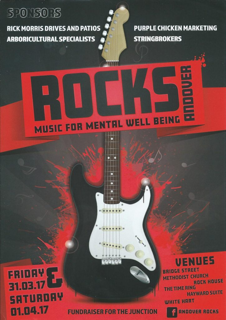 Andover ROCKS - Music for Mental Well Being