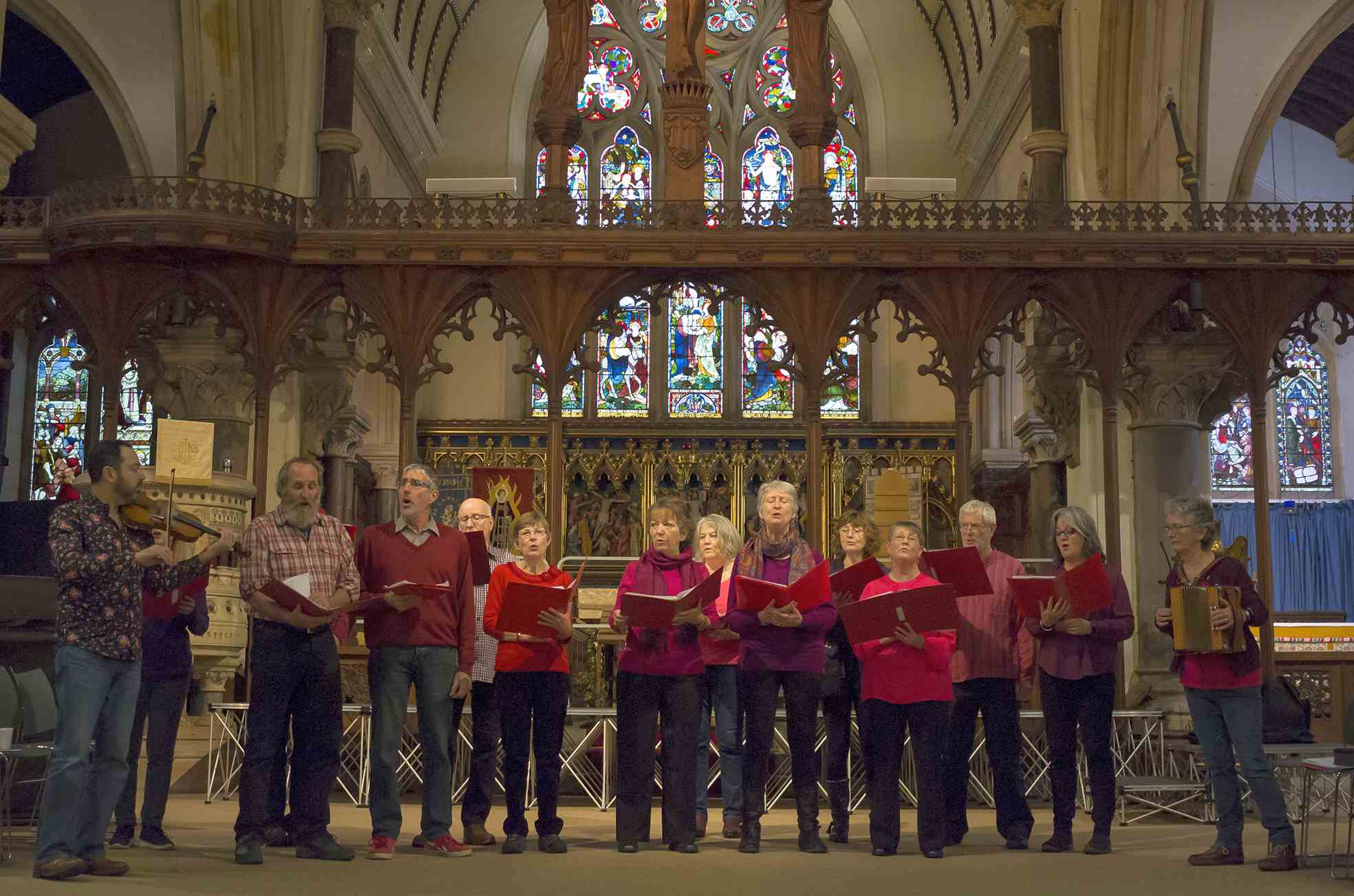 Andover Museum Loft Singers – Welcome  We are a Community